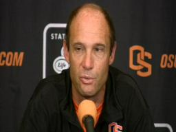 Oregon State coach Mike Riley on USC