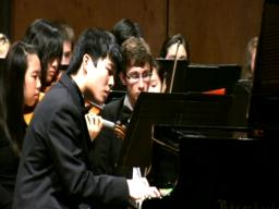 Kai Talim plays with the Portland Youth Philharmonic