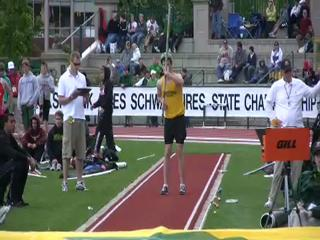 Sweet Home's Dakotah Keys wins the Class 4A pole vault championship
