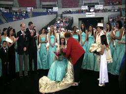 Rose Festival crowns Victoria Dinu of Portland's Grant High School