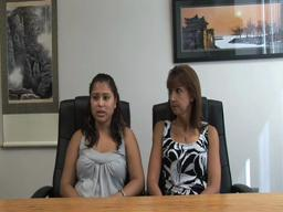Blanca Catt and her mother Lisa Catt discuss possible deportation