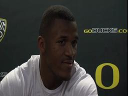 Oregon's LaMichael James after victory over UCLA