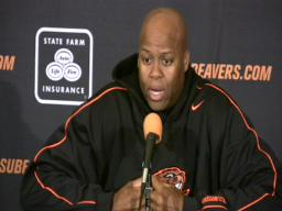 Oregon State basketball: Robinson on Collier