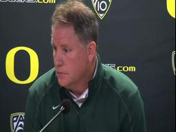 Video: Oregon Ducks coach Chip Kelly talks USC