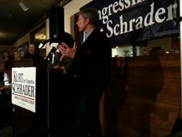 Video: Schrader thanks his supporters