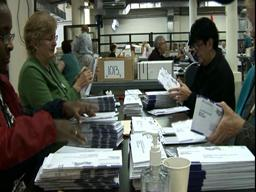 Multnomah County Elections office busy with ballot counting
