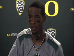 No. 1 Oregon 53, Washington 16 postgame video: QB Darron Thomas stays on message