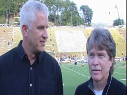Video: Before kickoff, Ken Goe and John Hunt talk Oregon-California
