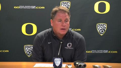 Oregon Ducks video: Chip Kelly gives thanks