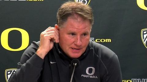 Oregon Ducks football video: Chip Kelly on Arizona