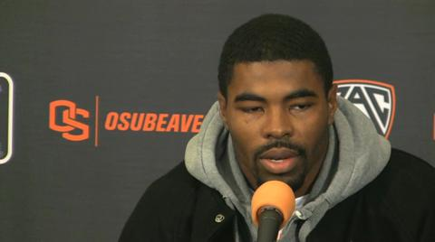 Oregon State Beavers respond to Cliff Harris' 'little brother' comments