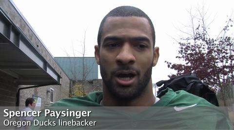 Oregon Ducks video: On containing Oregon State's Jacquizz Rodgers