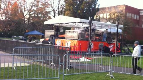 ESPN GameDay set