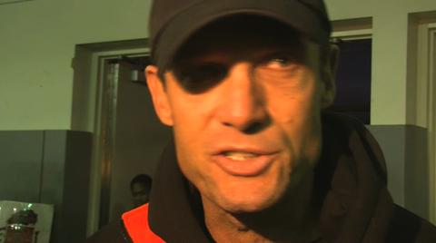 Mike Riley after Oregon State's walkthrough