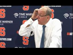 Syracuse vs. Marquette Basketball: Coach Jim Boeheim