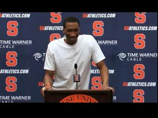 Syracuse's Wes Johnson Declares for NBA Draft