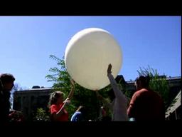 ESF Students Launch a Weather Balloon