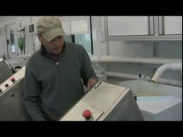 NYSDEC Salmon Tagging Trailer