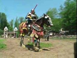 Armored Jousting at the Sterling Renaissance Festival