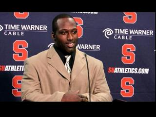 Syracuse vs. Colgate Football: Delone Carter Post-Game Press Conference