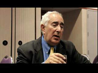Ben Stein at the CNY Insurance Trade Show