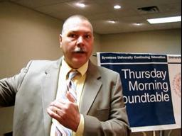 Evans addresses CNY economy at Thursday Morning Roundtable