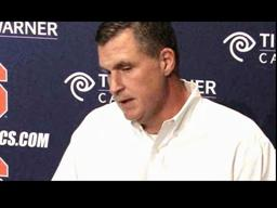Syracuse Football Post-Cincy: Coach Marrone's Monday Press Conference