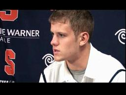 Orange QB Ryan Nassib Speaks...on Rutgers