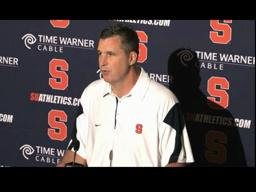 Syracuse Football Post-Rutgers: Coach Marrone's Monday Press Conference