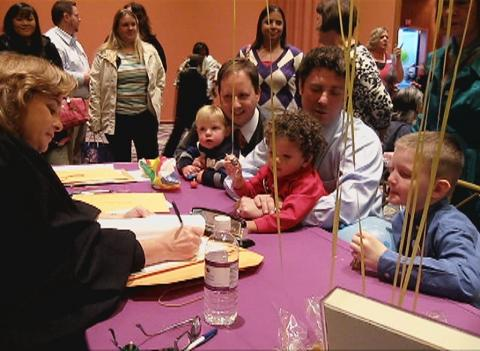 National Adoption Day Ceremonies at the Oncenter