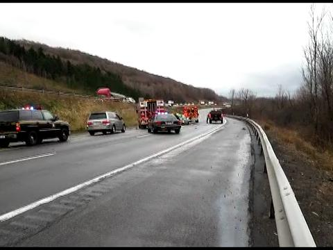 Cortland woman killed in Interstate 81 crash