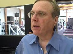 Paul Allen on Tuesday's workouts