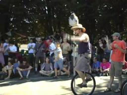 Unicycle Joust - Pedalpalooza 2008