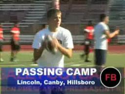 HS Passing camps - Lincoln, Canby, Hillsboro