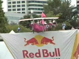 Fliers take plunge at Red Bull Flugtag  