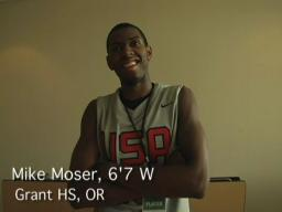 Mike Moser talks about summer basketball