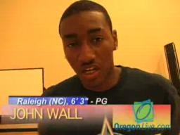 John Wall at the Nike Global Challenge