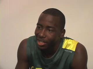 Oregon Basketball Media Day - Teondre Williams