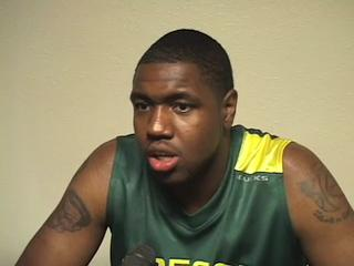 Oregon Basketball Media Day - Joevan Catron