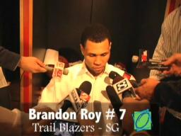 Video: Brandon Roy reacts to his 52-point game