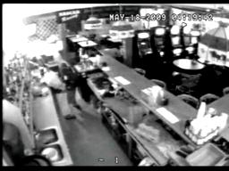 Burglary suspect takes empty cash register and loses his shorts