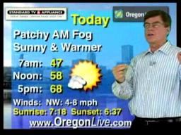 Thursday, October 8 weather forecast