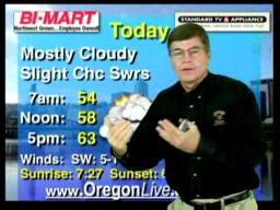 Thursday, October 15 weather forecast