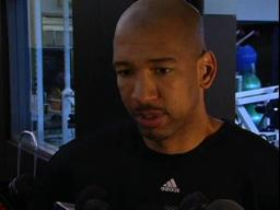 Trail Blazers assistant coach Monty Williams