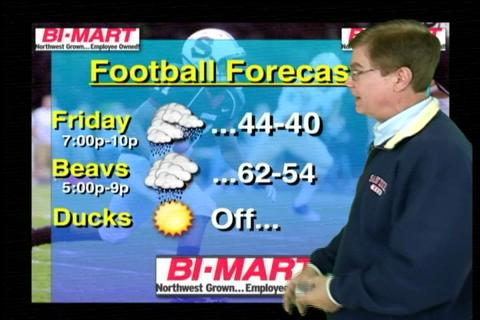 Friday, November 19 weather forecast