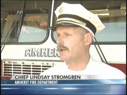 Amherst Fire Department stretched thin over the weekend