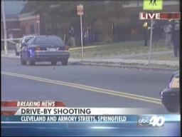 Drive-by shooting in Springfield