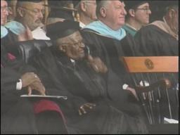 Desmond Tutu speaks in Springfield