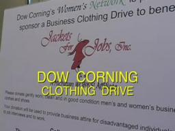 Dow Corning Clothing Drive