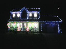 Brad Boyink's Holiday Christmas lights display